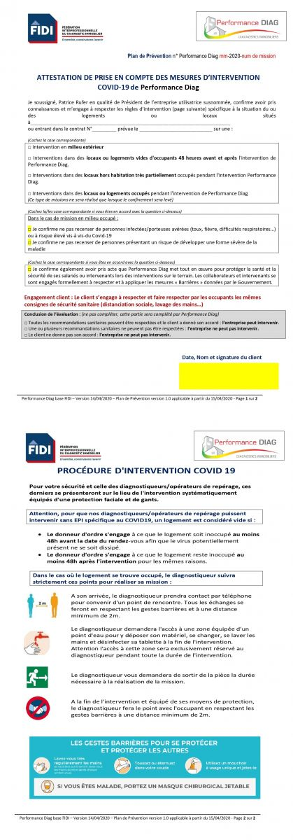 Plan De Prevention Une Procedure Indispensable Performance Diag